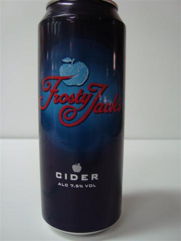 Frosty Jack's Cider 4 x 500ml cans