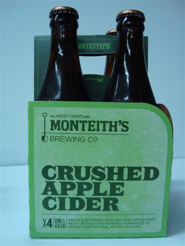 Monteith's Crushed Apple Cider
