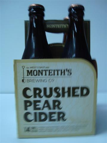 Monteith's Crushed Pear Cider