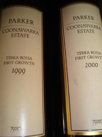 Parker Coonawarra Estate 1999 750ml