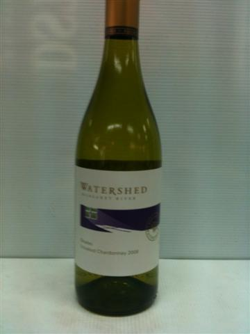 Watershed Unoaked Chardonnay 2008
