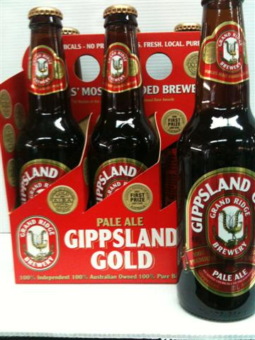 Grand Ridge Gippsland Gold 4.9% Alc Vol