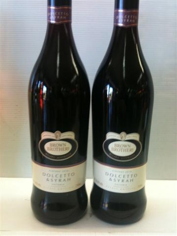 Brown Brothers Victoria Dolcetto & Syrah