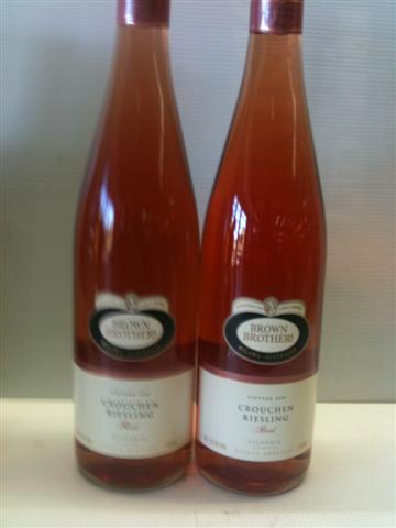 Brown Brothers Victoria Crouchen Riesling Rose