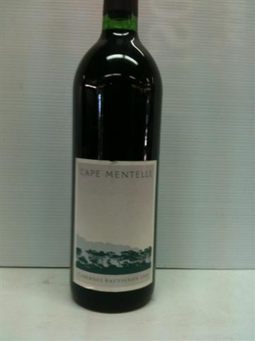 Cape Mentelle Shiraz 1992
