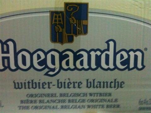 Hoegaarden 4 x 330ml bottles