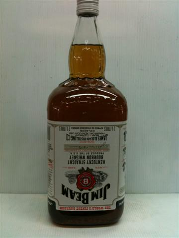 Jim Beam White Label 2 litre