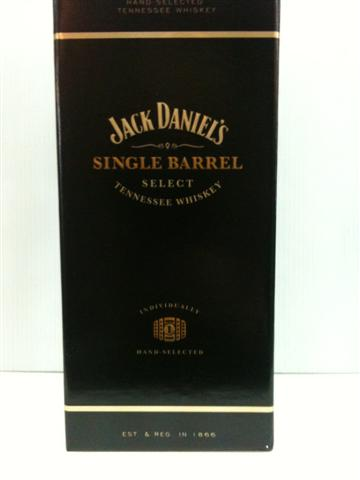 Jack Daniel's Single Barrel whisky