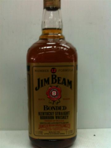Jim Beam Number 12 Formula Bonded