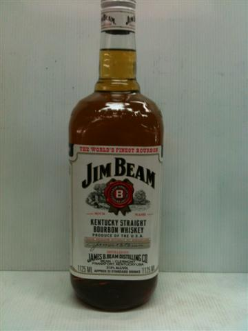Jim Beam White Label 1125ml