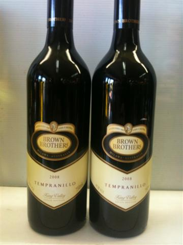 Brown Brothers King Valley Tempranillo